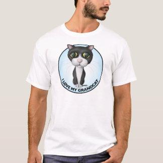 Tuxedo Cat - I Love My Grandcat T-Shirt