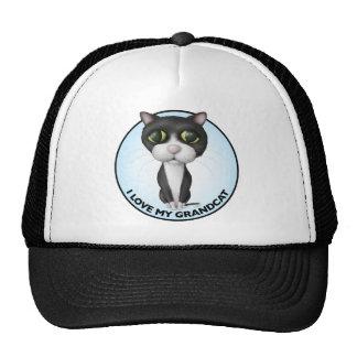Tuxedo Cat - I Love My Grandcat Trucker Hat