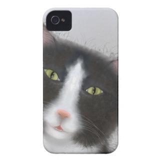 Tuxedo Cat iPhone 4 Cover
