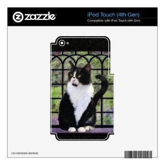 Tuxedo Cat iPod Touch 4G Skins