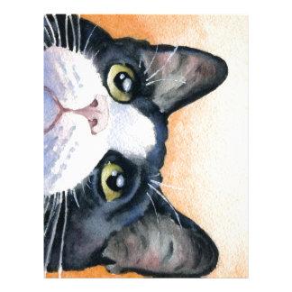 Tuxedo Cat Letterhead