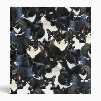 Tuxedo Cat Madness Binder