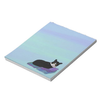 Tuxedo Cat Nap Notepads