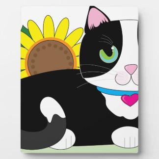 Tuxedo Cat Plaque