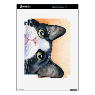 Tuxedo Cat Skins For iPad 2