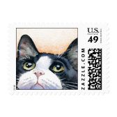 Tuxedo Cat Stamps