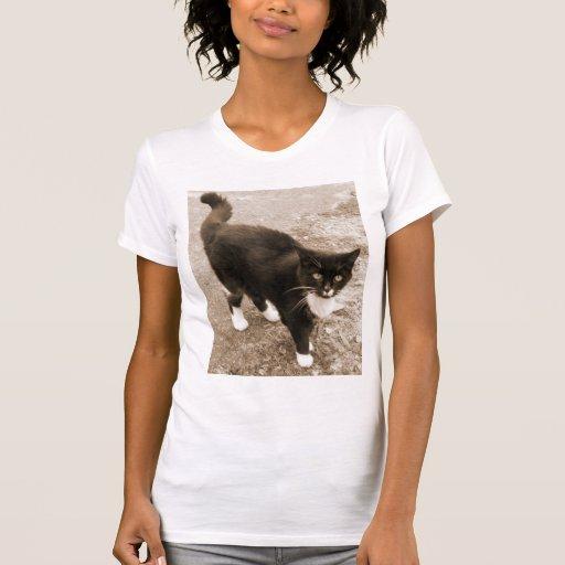 Tuxedo Cat T-Shirt!