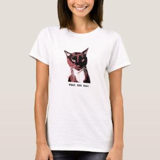 Tuxedo Cat T-shirt-FEED THE BOO T-Shirt