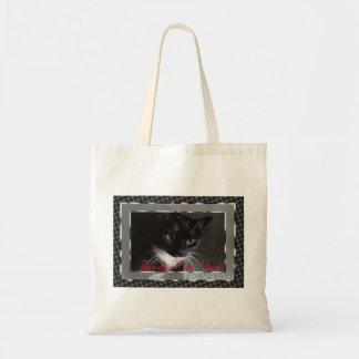 Tuxedo Cats Rule Tote Canvas Bags