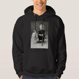 Tuxedo Child - black/white Hoodie