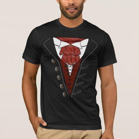 Tuxedo Cravat Dracula T-Shirt Halloween