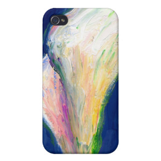 Tuxedo Cuff Lily Flower Art Painting iPhone Case
