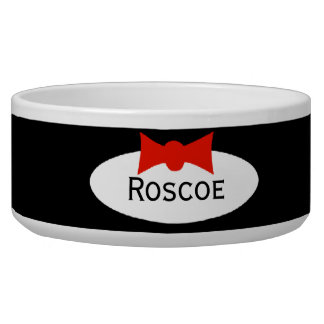 Tuxedo Dapper Boy Bow Tie Personalized Bowl
