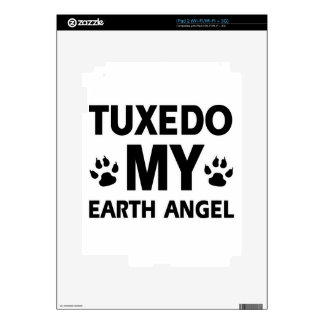 Tuxedo earth pet decals for the iPad 2