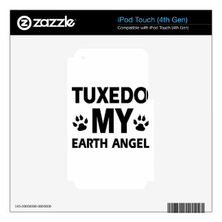 Tuxedo earth pet iPod touch 4G decal
