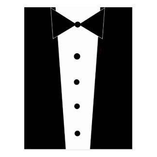 Tuxedo Elegant Formal Post Card