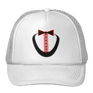 Tuxedo Mesh Hats