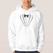 Tuxedo Hoodie (white)