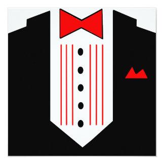 Tuxedo Invitation Dinner Party Formal Pre-Prom