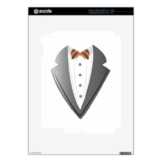 Tuxedo iPad 2 Decals