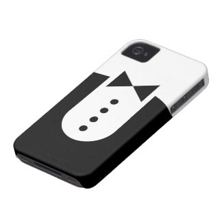 Tuxedo iPhone 4/4S Case-Mate Barely There Case-Mate iPhone 4 Cases