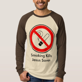 Tuxedo Kills and Jesus Saves T-Shirt