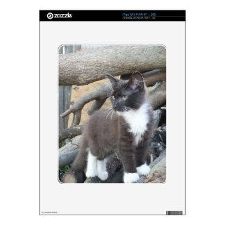 Tuxedo Kitten iPad Decal