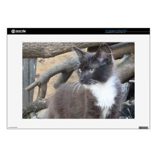 Tuxedo Kitten Laptop Skin