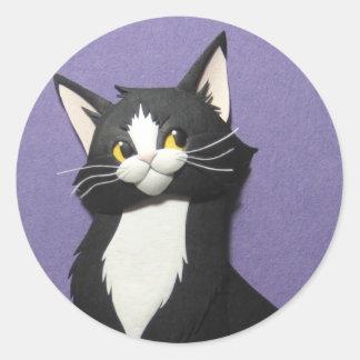 Tuxedo Kitten Stickers
