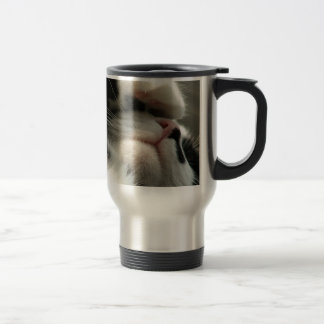 Tuxedo Kitty Has A Sick Headache Coffee Mug