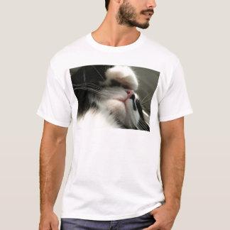 Tuxedo Kitty Has A Sick Headache T-Shirt
