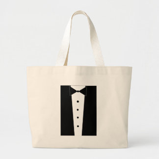 Tuxedo Large Tote Bag