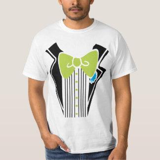 Tuxedo - Lime Tie T-Shirt