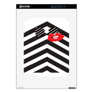 Tuxedo Man and-a Kiss Gifts Skin For iPad 2