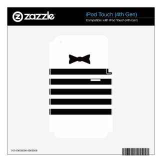 Tuxedo Man Multiple Gites Selected Decals For iPod Touch 4G