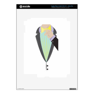 Tuxedo Man Skins For iPad 3