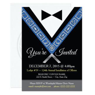 Tuxedo Masonic Invitations | Freemason Jewels