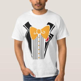 Tuxedo - Orange Tie T-Shirt