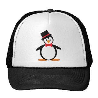 Tuxedo-Pengo Trucker Hat