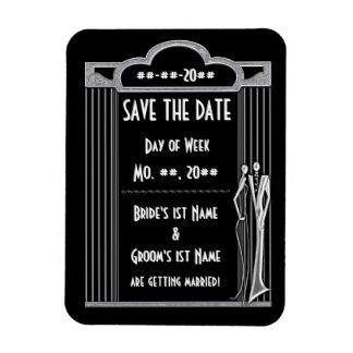 Tuxedo (Save The Date Magnet) Rectangular Photo Magnet