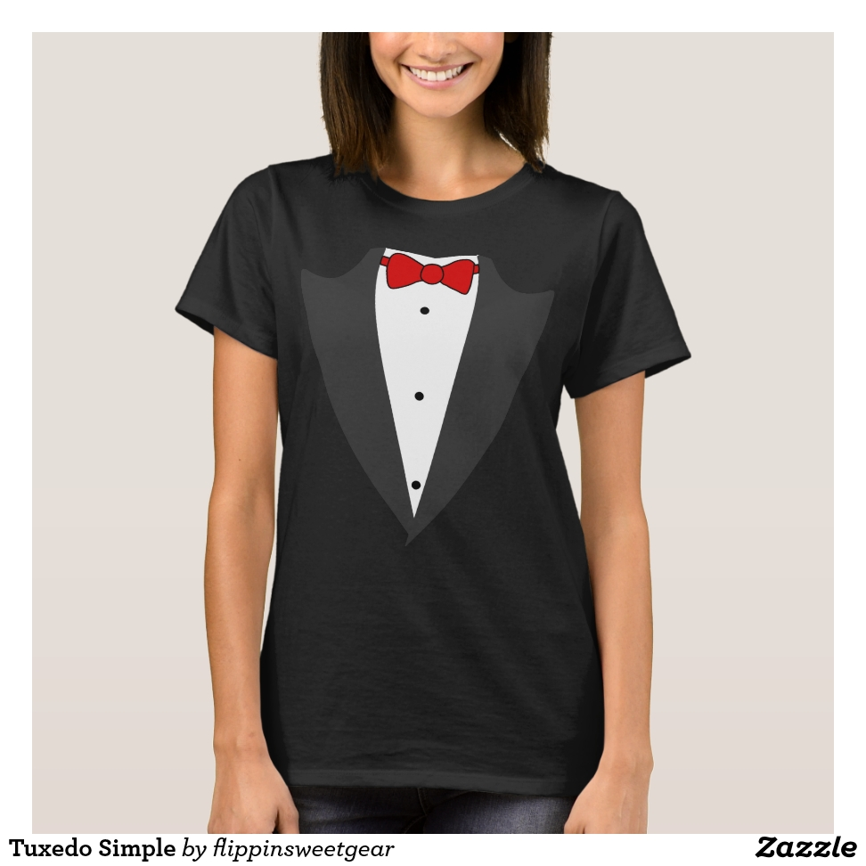 Tuxedo Simple T-Shirt - Best Selling Long-Sleeve Street Fashion Shirt Designs