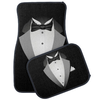 Tuxedo Suit Car Mats