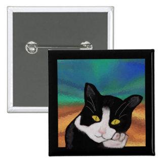 Tuxedo the Cat Pin