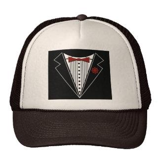 Tuxedo Tshirt Trucker Hat