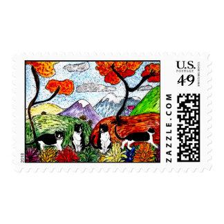 Tuxedo Valley Postage Stamp