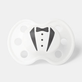 Tuxedo wedding gifts and props for groom pacifier
