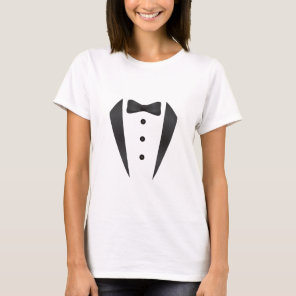 Tuxedo wedding gifts and props for groom T-Shirt
