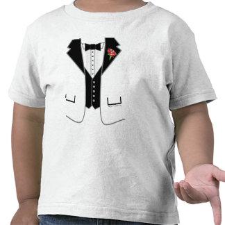 tuxedo -white jacket tshirt