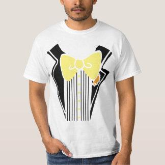 Tuxedo - Yellow Tie T-Shirt
