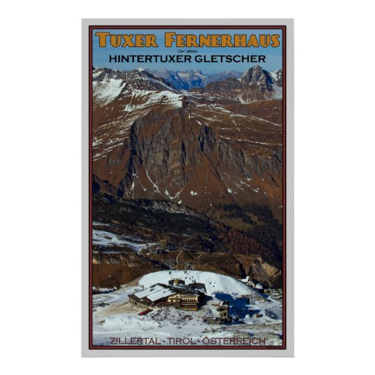 Tuxer Fernerhaus Poster